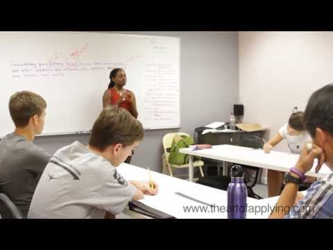 College Application Summer Camp for Seniors in Austin, Texas