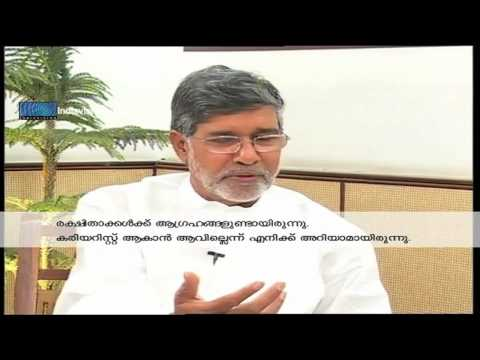 Exclusive Interview with Kailash Satyarthi Part01