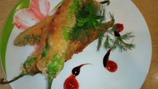 Еда с огоньком!Фаршированые чили в хрустящей корочке | Food with a twinkle!Stuffed Chile in a crispy