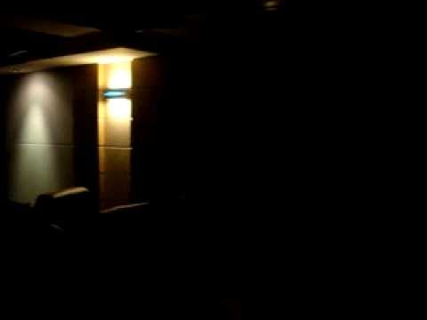 home theater home automated motorized blackout shades and