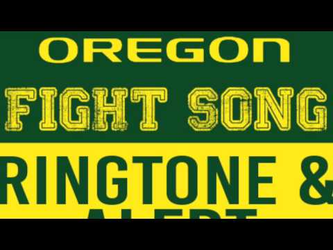 Oregon Fight Song Theme Ringtone and Alert