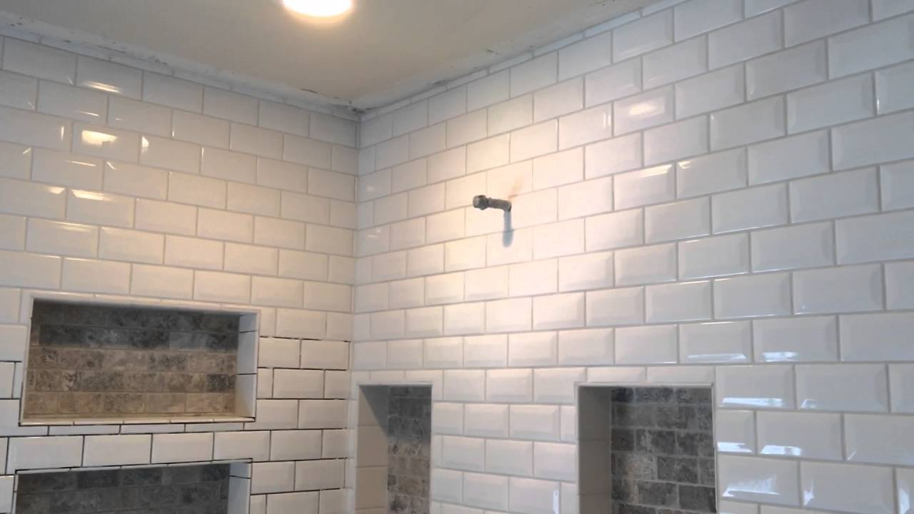 How To Grout Bevel Tile Youtube