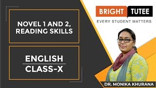 Live Session on Class 10 English Novel and Reading Skills Tips and Tricks by Monika Khuran ...