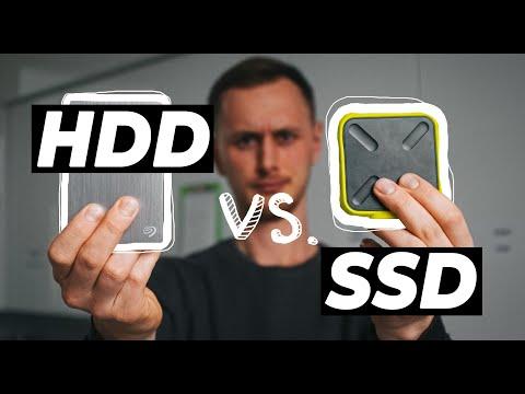 Montaż filmów na dysku zewnętrznym? [HDD vs. SSD]