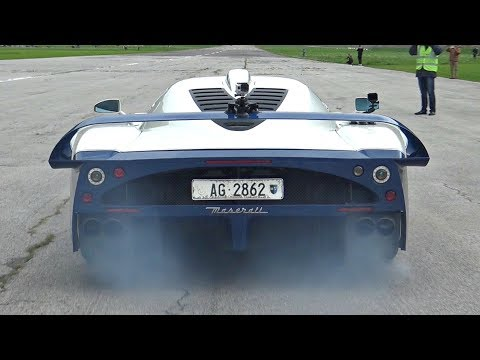 Maserati MC12 with Custom Exhaust Will Give You Goosebumps