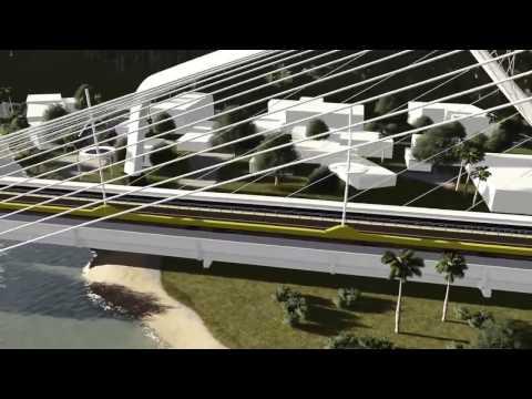 Ponte de Santa Ana in Dili, Timor-leste