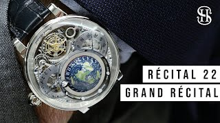 reviewing watches