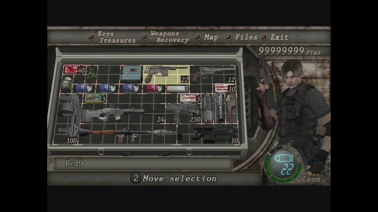 Resident Evil 4 Unlimited Health Unlimited Ammo Unlimited Cash