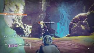 Destiny 2 Wanted: Blood Cleaver UNDER LEVELED AT 500 LIGHT! (Adventure on IO) - Spider Wanted Bounty