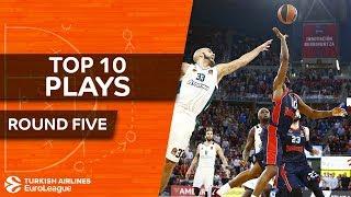 Top 10 Plays  - Turkish Airlines EuroLeague Regular Season Round 5