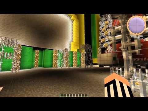 WWE Money In The Bank Arena Through Minecraft #2