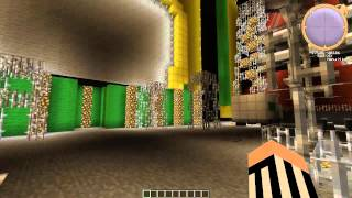WWE Money in the Bank arena through Minecraft #2