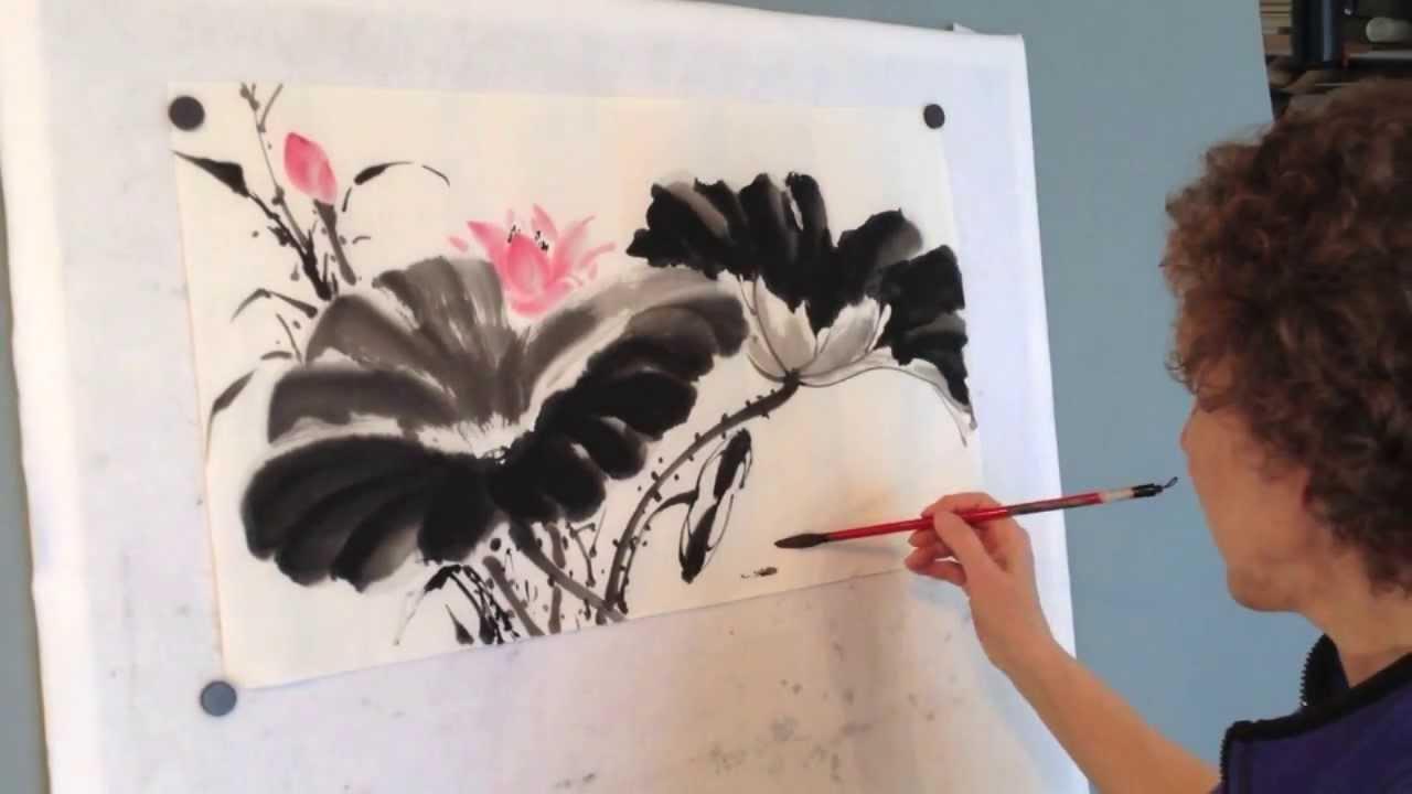 Lotus Part 2 Flowers By Virginia Lloyd Davies Youtube