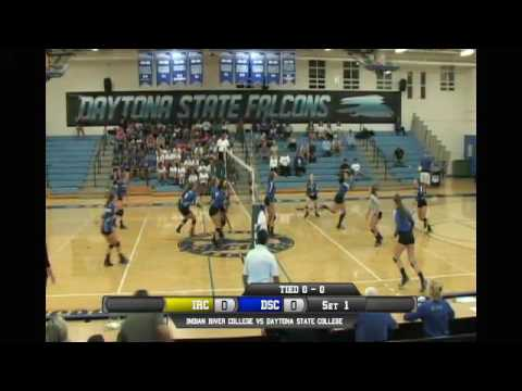 Daytona State College Womens Volleyball VS Indian River College