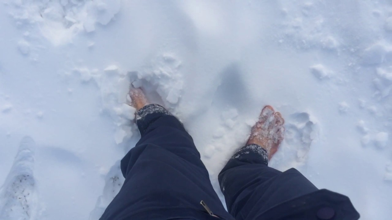 Почему болят стопы и как вылечить стопы с помощью снега и упражнений!
