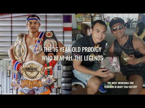 The 16 Year Old Boy Who Became The King Of Muay Thai