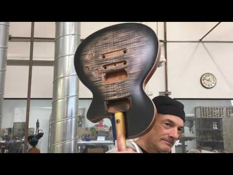 Tom Anderson guitar factory tour