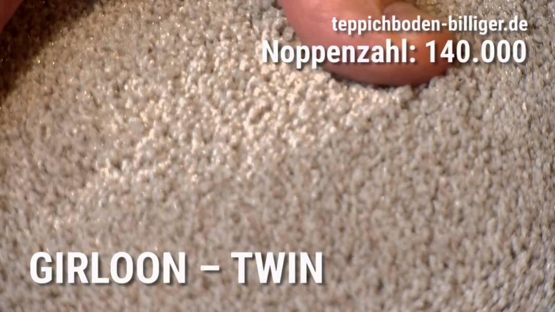 """Billiger teppichboden  Der Wohlfühl-Teppichboden """"Girloon Twin"""" - YouTube"""