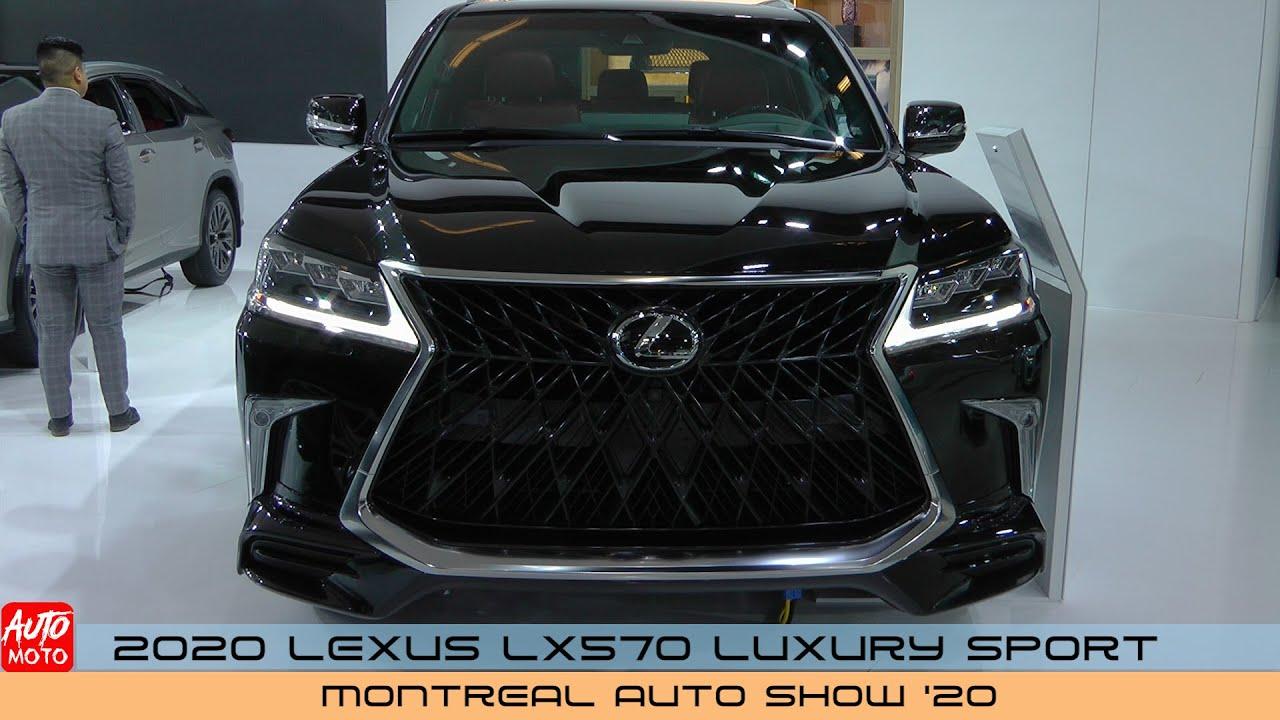 Lexus LX570 SUV bản Luxury Sport 2020 tại Montreal Auto Show
