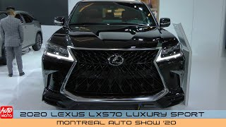 2020 Lexus LX570 SUV Luxury Sport - Exterior And Interior - Montreal Auto Show 2020