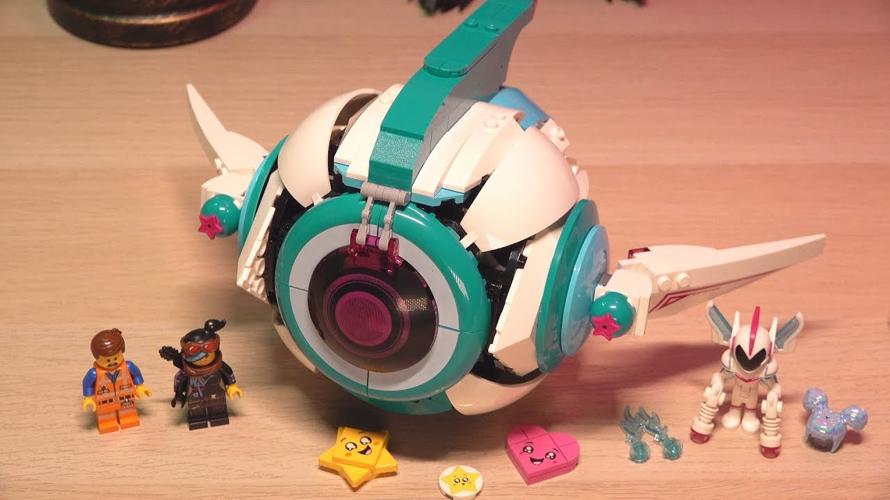 Build Lego Movie 2 Sweet Mayhem S Systar Starship 70830 Youtube