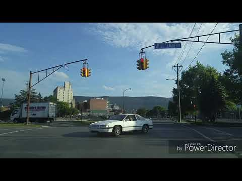 Driving By Williamsport,Pennsylvania