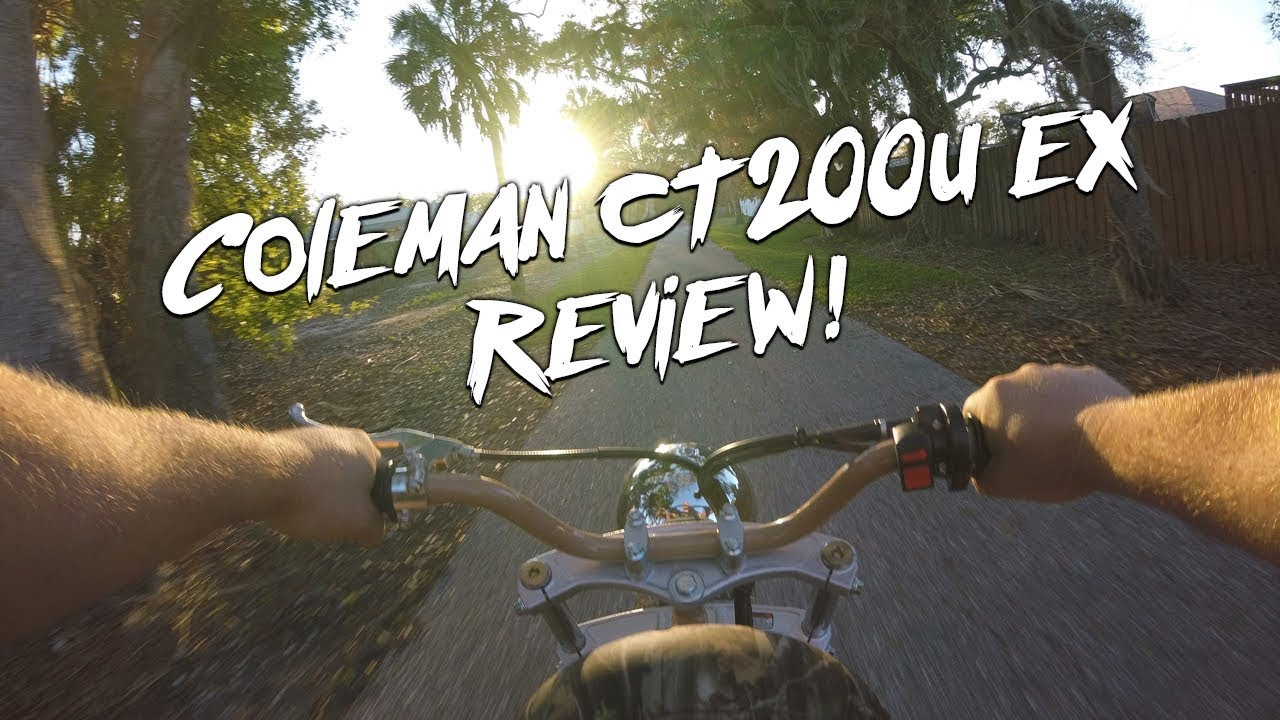 Coleman CT200U EX first Month Review and Ride Along