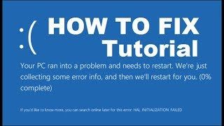 How To Fix Windows 10 Startup Problems - COMPLETE Tutorial