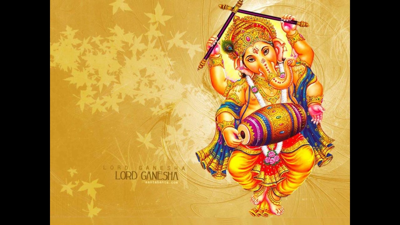 Lord ganesha multi color painting hd image -  Good Morning Wishes Greetings With Lord Ganesha Wallpapers Ganesha Hd Photos Images Video