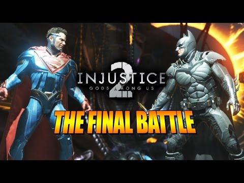 FINAL BATTLE  Last Hour: INJUSTICE 2 Story Mode wYoVideogames