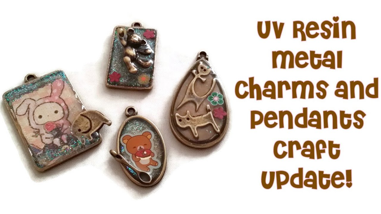 Craft update uv resin charms pendants youtube craft update uv resin charms pendants aloadofball Gallery