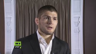 "Khabib Nurmagomedov: ""You should give credit to Conor McGregor"", Khabib talks about fear"