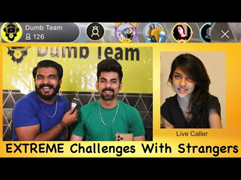 Extreme Challenges with Strangers on BIGO LIVE ( Watch Till End )