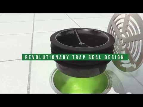 Green Drain™ Waterless Trap Seal for Floor Drains - Easy-to-Install Trap Primer Alternative
