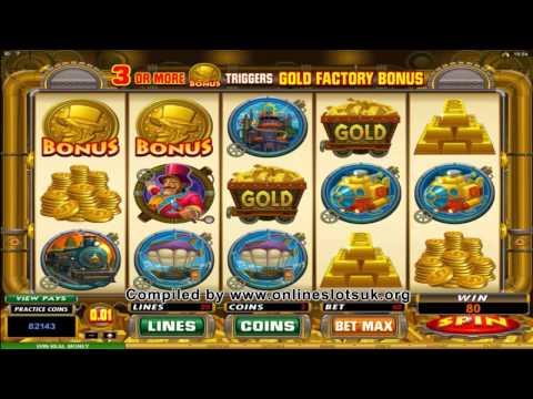 Spin Palace Casino - Gold Factory Slots