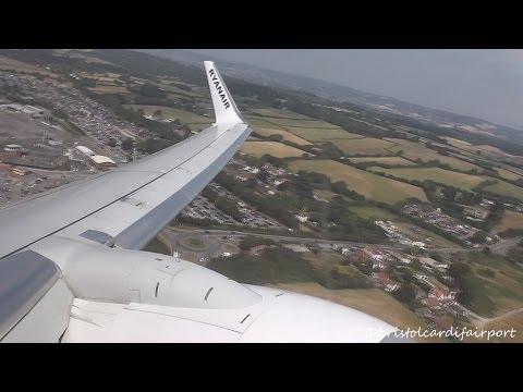 Ryanair Boeing 737-800 EI-EVG - Bristol to Tenerife South *Full Flight*