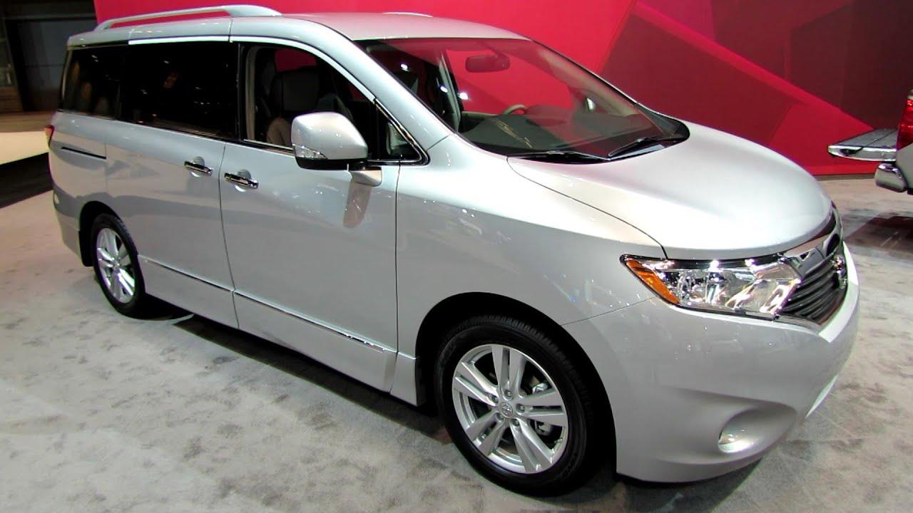 2014 Nissan Quest SL   Exterior And Interior Walkaround   2014 Chicago Auto  Show   YouTube
