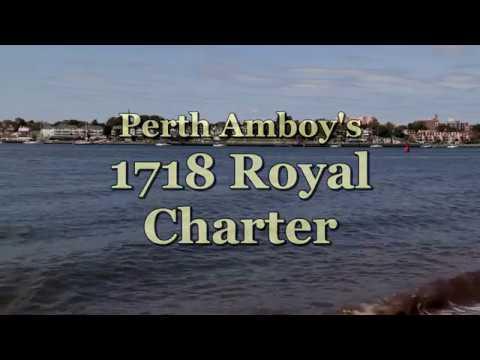 Historic Perth Amboy's 1718 Charter