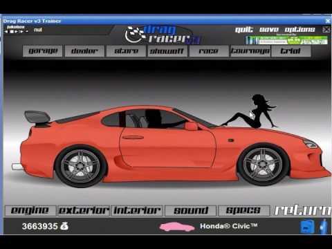 Drag racer v3 cars
