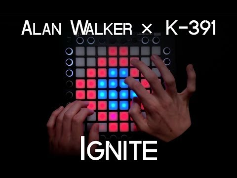Alan Walker ✕ K - 391 - Ignite (ft Julie Bergan & Seungri) | Launchpad Pro Cover + Project File