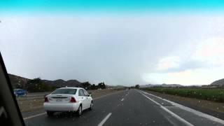 Severe Thunderstorm Hemet California!