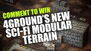Win 4Ground's New Sci Fi Modular Terrain