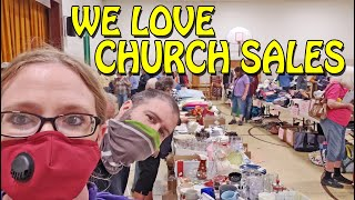 WE FILLED UP TWÏCE AT THIS CHURCH YARD SALE! Shop With Us eBay Reselling