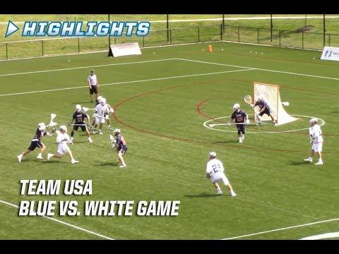 HIGHLIGHTS: Team USA Blue vs. White Game