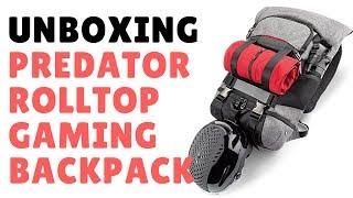 UNBOXING Acer Predator Rolltop Gaming Backpack | Oscar Soto