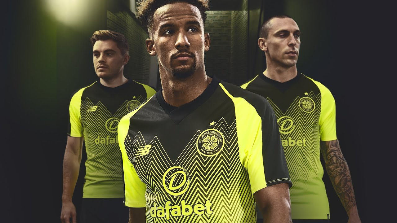 9d3565ace Celtic FC - 2018 19 Third Kit by New Balance Football - YouTube