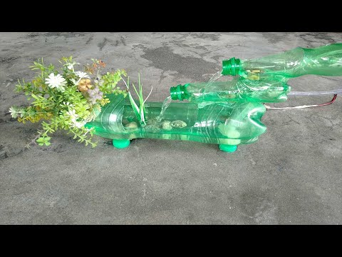 Easy waterfall making at home with empty plastic bottle from YouTube · Duration:  4 minutes 7 seconds