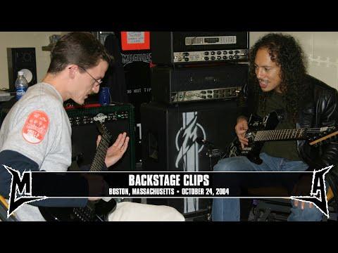 Metallica: Backstage Clips (MetOnTour - Boston, MA - 2004) Thumbnail image