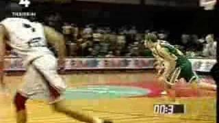 Žalgiris vs Lietuvos Rytas 35 sekundes