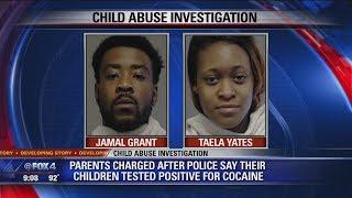 Kids test positive for drugs; parents arrested